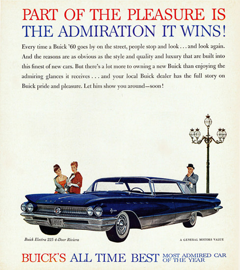 Buick Electra 225 Riviera 1960 All Time Best | Vintage Cars 1891-1970