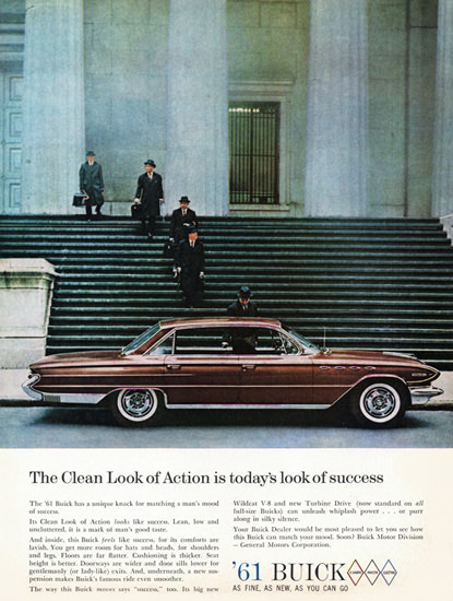 Buick Electra 225 Riviera 1961 Look Of Success | Vintage Cars 1891-1970