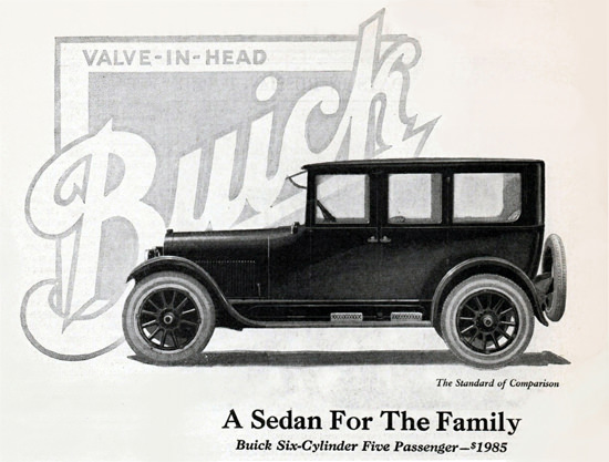 Buick Five P Sedan 6 Cylinder 1923 | Vintage Cars 1891-1970