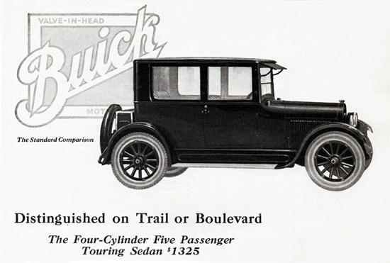 Buick Five P Touring Sedan 4 Cylinder 1923   Vintage Cars 1891-1970