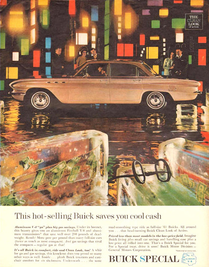 Buick Hot Selling Saves You Cool Cash 1961 | Vintage Cars 1891-1970