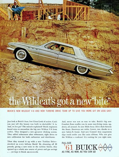 Buick LeSabre Hardtop 1961 Wildcats New Bite | Vintage Cars 1891-1970