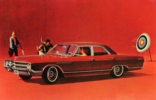 Buick LeSabre Sedan 1965 Arrow Archery In Red | Vintage Cars 1891-1970
