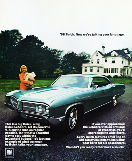 Buick LeSabre V8 1968 Household Budget | Vintage Cars 1891-1970