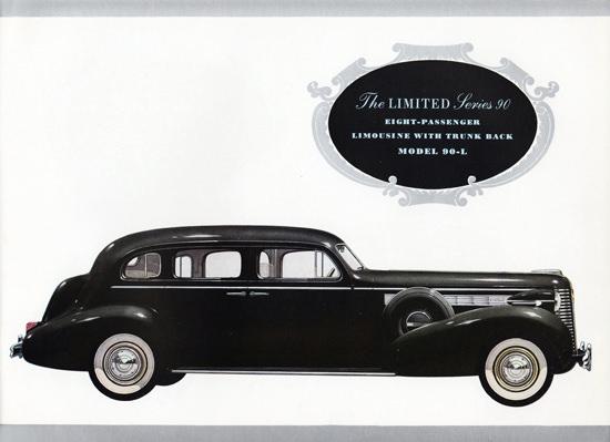 Buick Limited Series 90 Limousine 90L 1938 | Vintage Cars 1891-1970