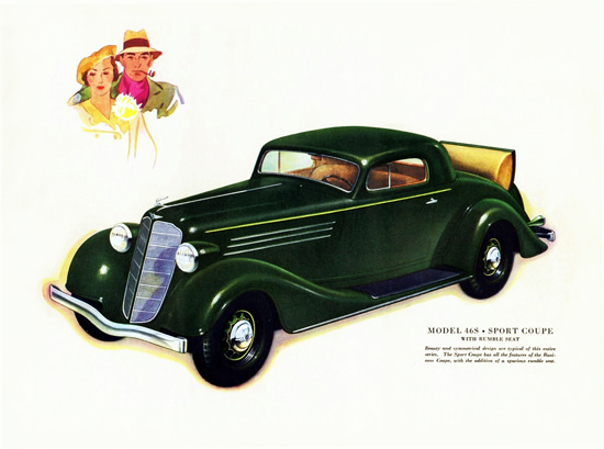 Buick Model 46 S Coupe 1934 Rumble Seat | Vintage Cars 1891-1970