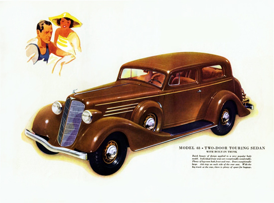 Buick Model 48 Touring 1934 Built In Trunk | Vintage Cars 1891-1970