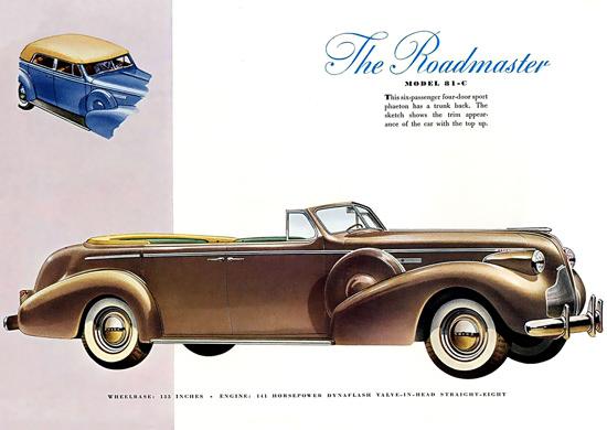 Buick Roadmaster 81-C | Vintage Cars 1891-1970