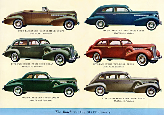 Buick Series Sixty Century 1937 | Vintage Cars 1891-1970
