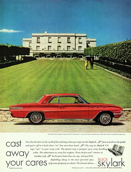 Buick Skylark 1961 Cast Away Your Cares | Vintage Cars 1891-1970