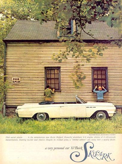 Buick Skylark House For Sale 1963 | Vintage Cars 1891-1970