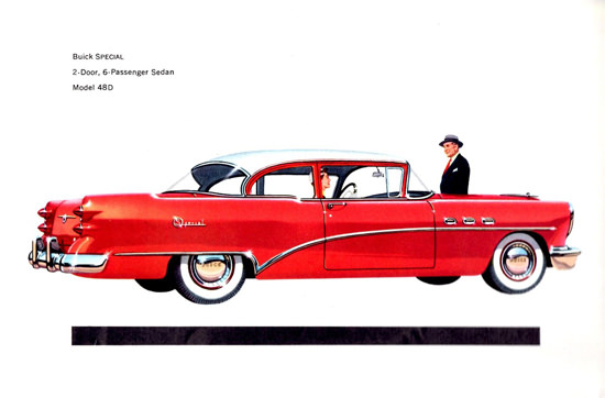 Buick Special 2 Door Sedan 1954 | Vintage Cars 1891-1970