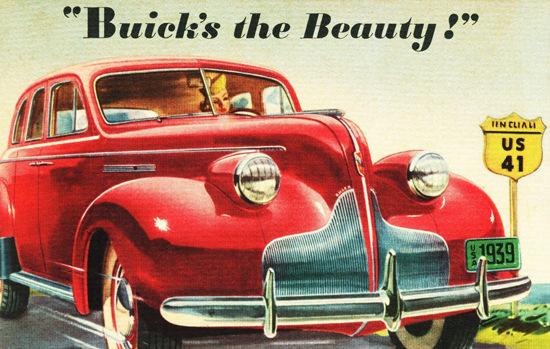 Buick Special 4 Door Sedan 1939 | Vintage Cars 1891-1970
