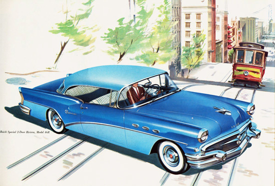 Buick Special Hardtop Riviera 1956 San Francisco | Vintage Cars 1891-1970