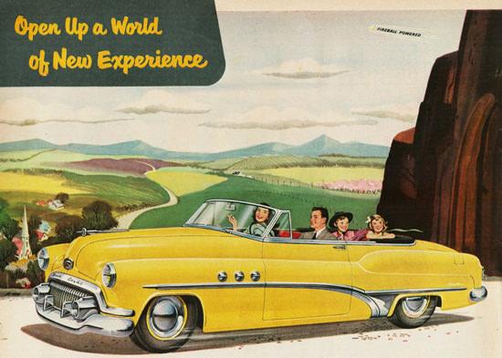 Buick Super Convertible 1951 | Vintage Cars 1891-1970