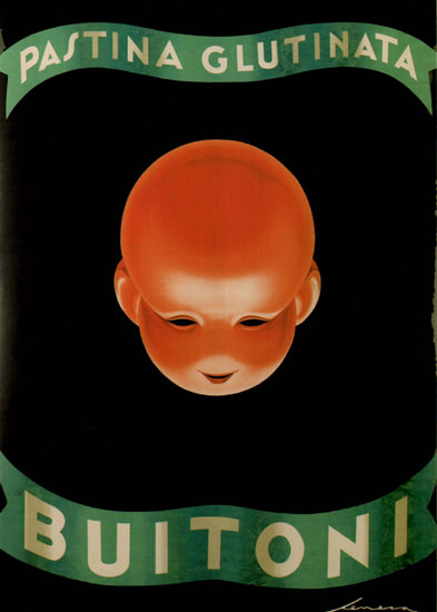 Buitoni Pastina Glutinata Italy Italia | Vintage Ad and Cover Art 1891-1970