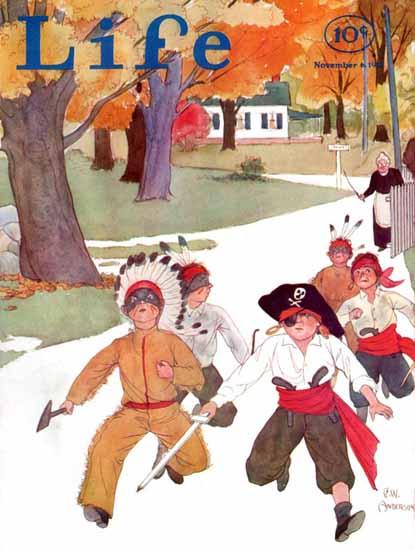CW Anderson Life Humor Magazine 1931-11-06 Copyright | Life Magazine Graphic Art Covers 1891-1936