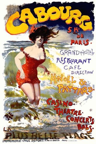 Cabourg La Plus Belle Plage Casino De Paleologue | Sex Appeal Vintage Ads and Covers 1891-1970