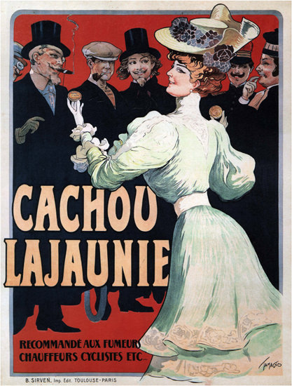 Cachou Lajaunie France | Sex Appeal Vintage Ads and Covers 1891-1970