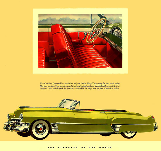 Cadillac Convertible Red Interior | Vintage Cars 1891-1970