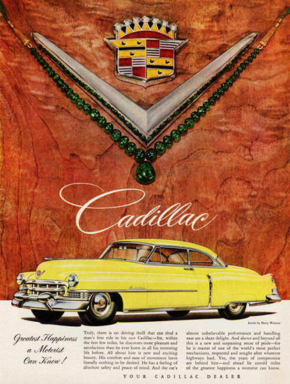 Cadillac Coupe DeVille 1951 Great Happyness | Vintage Cars 1891-1970