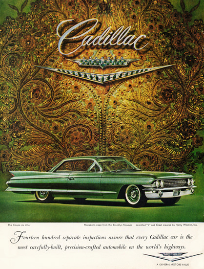 Cadillac Coupe DeVille 1961 Brooklyn Museum | Vintage Cars 1891-1970
