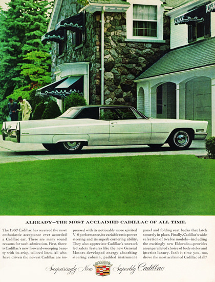 Cadillac Coupe DeVille 1967 Country House | Vintage Cars 1891-1970