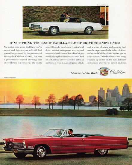 Cadillac DeVille Convertible 1967   Vintage Cars 1891-1970