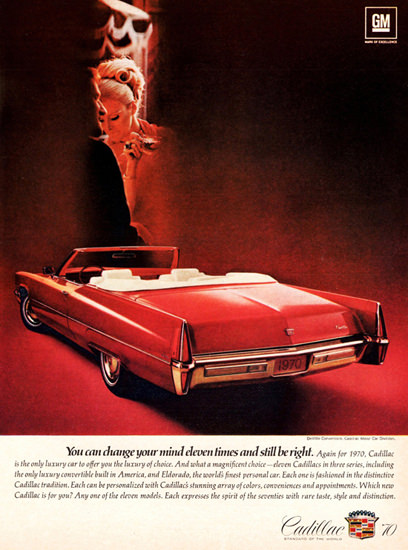 Cadillac DeVille Convertible 1970 Change Your Mind | Vintage Cars 1891-1970