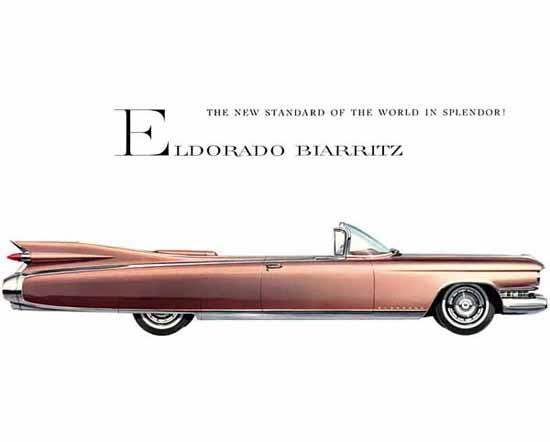 Cadillac Eldorado Biarritz 1959 Ad   Vintage Cars 1891-1970