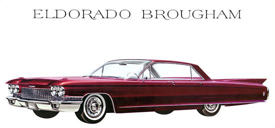 Cadillac Eldorado Brougham Burgundy | Vintage Cars 1891-1970
