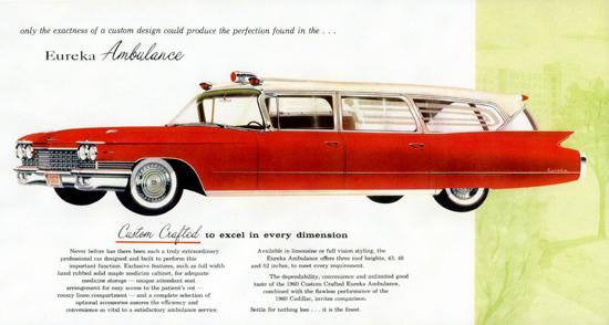 Cadillac Eureka Ambulance 1960 Crafted | Vintage Cars 1891-1970