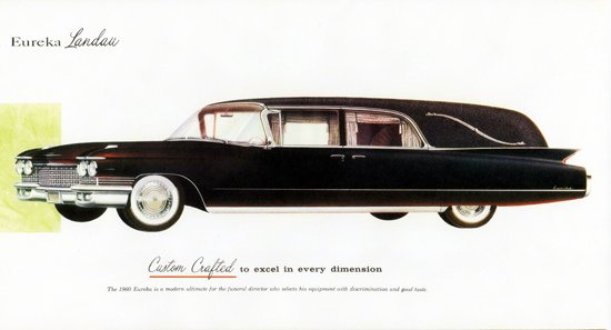 Cadillac Eureka Landau Funeral 1960 Crafted | Vintage Cars 1891-1970