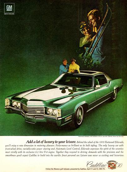 Cadillac Fleetwood Eldorado 1970 To Leisure | Vintage Cars 1891-1970