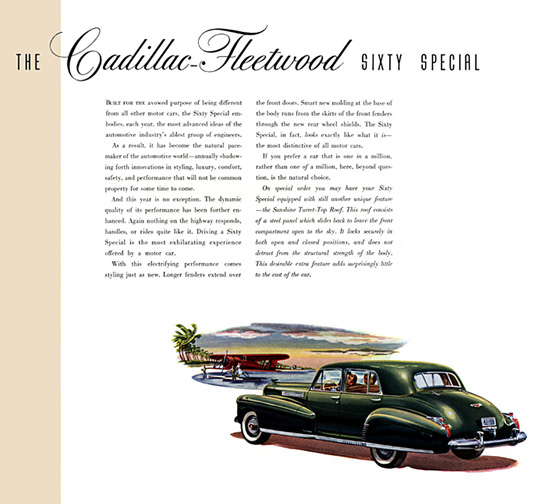 Cadillac Fleetwood Sixty Special Green | Vintage Cars 1891-1970