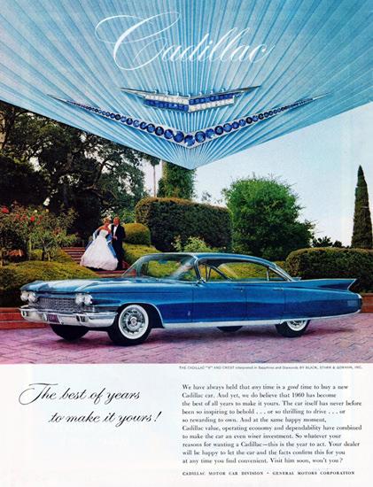 Cadillac Fleetwood Sixty Special Sedan 1960 | Vintage Cars 1891-1970