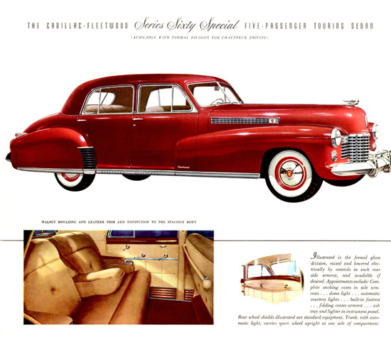 Cadillac Fleetwood Sixty Special Touring 1941 | Vintage Cars 1891-1970