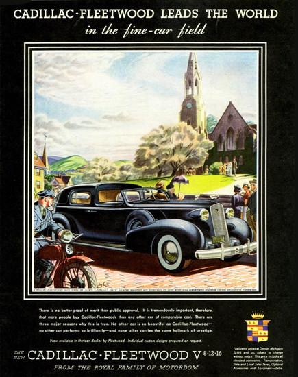 Cadillac Fleetwood V12 Series 85 Cabriolet 1937 | Vintage Cars 1891-1970