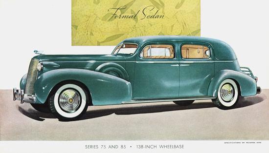 Cadillac Formal Sedan 1937 | Vintage Cars 1891-1970