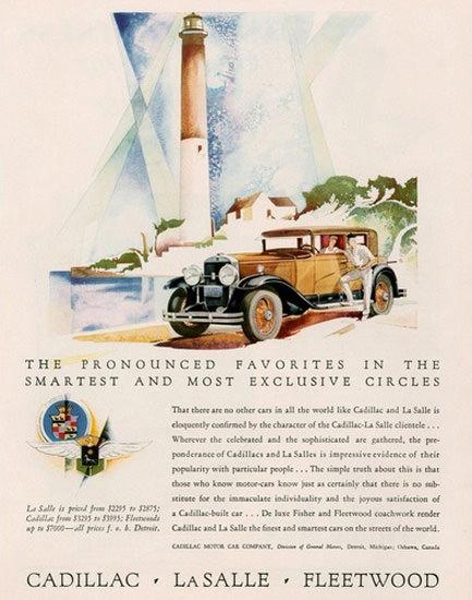 Cadillac La Salle V8 Fleetwood Lighthouse | Vintage Cars 1891-1970