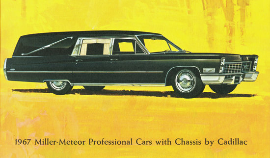 Cadillac Professional Cars By Miller-Meteor 1967 | Vintage Cars 1891-1970