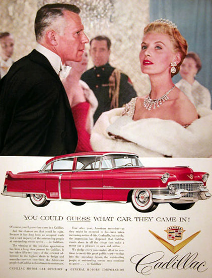 Cadillac Sedan DeVille 1955 Red | Vintage Cars 1891-1970