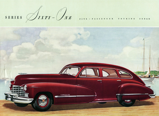 Cadillac Series Sixty One Touring Sedan 1946 | Vintage Cars 1891-1970