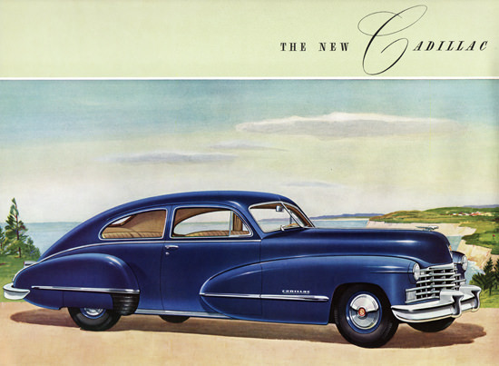 Cadillac Series Sixty Two Club Coupe 1946 | Vintage Cars 1891-1970