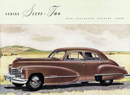 Cadillac Series Sixty Two Touring Sedan 1946 | Vintage Cars 1891-1970