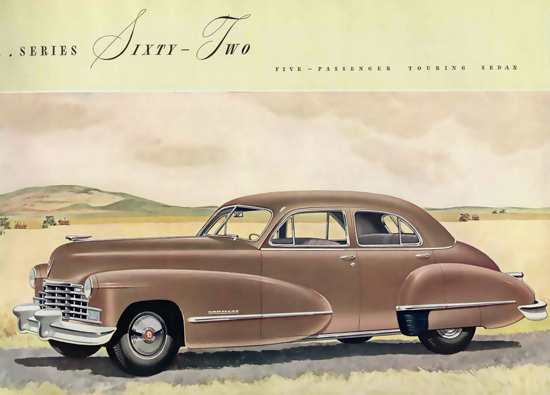 Cadillac Series Sixty-Two Touring Sedan | Vintage Cars 1891-1970