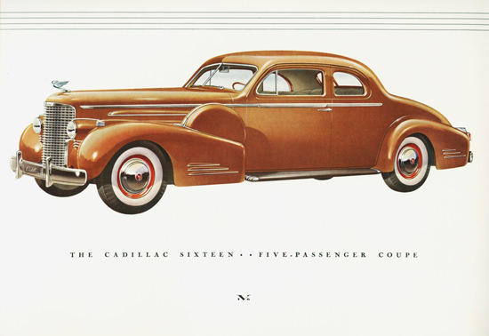 Cadillac Sixteen Five Passenger Coupé 1938 | Vintage Cars 1891-1970
