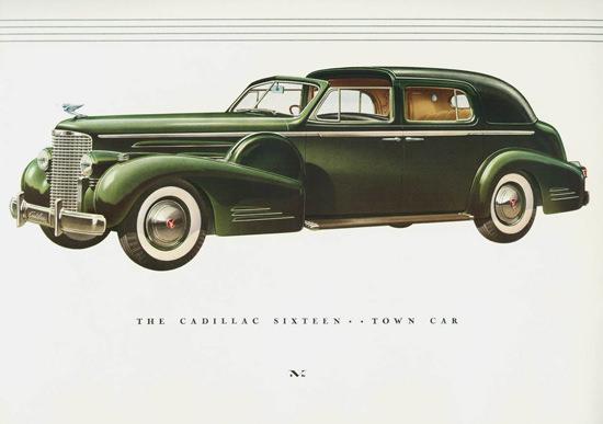 Cadillac Sixteen Town Car 1938 | Vintage Cars 1891-1970