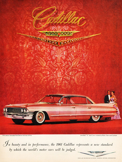 Cadillac Sixty Two 1961 Detroit Institute Of Arts | Vintage Cars 1891-1970