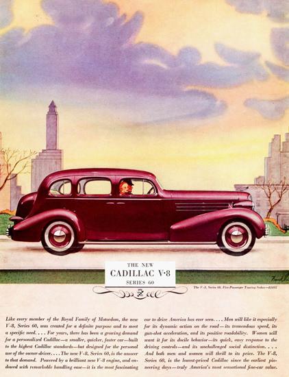 Cadillac V8 Series 60 Touring Sedan 1936 | Vintage Cars 1891-1970